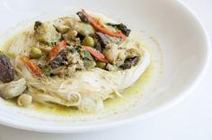 Khanom Chin Traditional Thai Dish