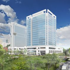 Portman is planning on a 15 floor office building in that location called 615 South College.