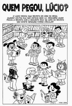 Companheiros da Educação: RACIOCÍNIO E ATENÇÃO COM O MENINO MALUQUINHO - 1º ,2º e 3º ANO