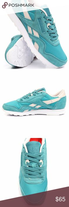 820dc3fd3bb Reebok Classic Women s Sneakers Size Very nice blue color sneakers size  brand new never worn! I ship same or next day fast!