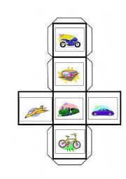 English teaching worksheets: Dice games