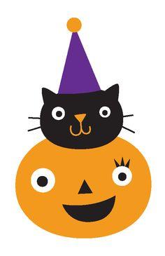 Halloween - NKUBO_PumpkinandKittyHead.png - Minus
