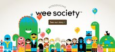 Wee Society, amazing website from a few folks at Office