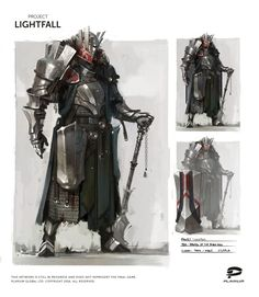 ArtStation - Project Lightfall, Plarium Ukraine