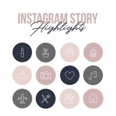 Icons Discover Your place to buy and sell all things handmade Creative Instagram Stories, Instagram Logo, Instagram Design, Free Instagram, Instagram And Snapchat, Instagram Story Template, Instagram Story Ideas, Insta Icon, Instagram Highlight Icons