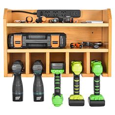 Power Tool Organizer, Sunix Power Tool Charging Station Drill Wall Holder Wall Mount Tools Garage Storage (Power Strip is Not Included) – Power Tools On Sale Product Description Garage Wall Storage, Storage Shed Organization, Tool Storage Cabinets, Diy Storage, Organizing Tools, Lumber Storage, Storage Rack, Power Tool Organizer, Power Tool Storage