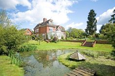 Wonderful property and what a nice pond