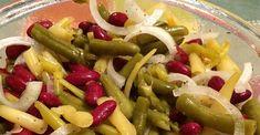 Three Bean Salad 3 Bean Salad, Three Bean Salad, Bean Salad Recipes, Lunch Recipes, Vegetarian Recipes, Cooking Recipes, Healthy Recipes, Diet Recipes