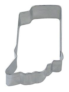 CybrTrayd RM Indiana State Tinplated Steel Cookie Cutter Silver Bulk Lot of 12 * You can find out more details at the link of the image.