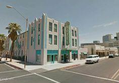 """New Windsor Hotel, Phoenix, Arizona (1893) /  33°26'57.85""""N 112° 4'52.40""""W (Google Earth Street View)"""