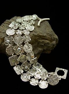 Fine Silver and Sterling Silver Art Jewelry