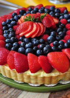 Fresh Berry Tart 16 Mixed #Berry #Tart Recipes | All Yummy #Recipes