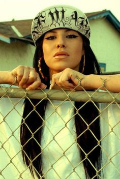 "Most people see spanish women like this, a gangster version of their male counterparts known as ""chola"""
