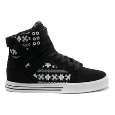 reputable site ddb98 de658 Nike Supra Shoes Skytop Black White Snowflake Leatehr Women Buy Shoes, Me  Too Shoes,