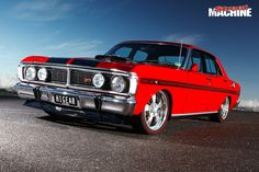 Michael Agius turned two dead Ford XY Falcons into this stunning GT replica