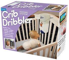 사진은 권력이다 :: 아기들을 위한 Crib Dribbler 자동 젖병 장치