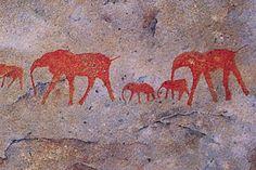 Matjiesrivier Nature Reserve - Boesman rock paintings BelAfrique - Your Personal Travel Planner - www.belafrique.co.za