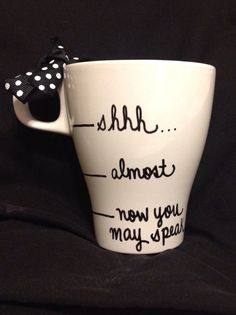Custom Your Quote Coffee Mug, Personalized Mug on Etsy, £5.20 Charlotte you need this