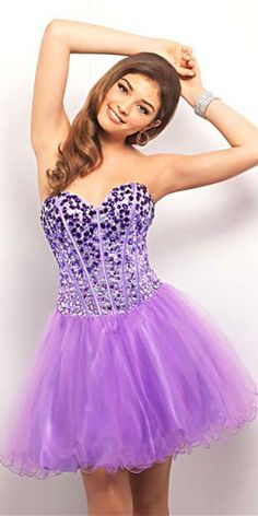 Love the color and the rhinestones on the top!!
