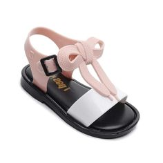 Mini Melissa Mickey Bow Shoes 2019 New Summer Girls Jelly Shoe Girl Non-slip Kids Beach Sandal Toddler Sandals Princess online shopping mall, buying fashion dresses & rapid delivery. Start your amazing deals with big discounts! Baby Girl Sandals, Toddler Sandals, Toddler Girl Shoes, Kids Sandals, Girls Shoes, Jelly Shoes, Jelly Sandals, Beach Shoes, Beach Sandals