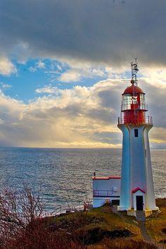 Sheringham Point Lighthouse, British Columbia, Canada