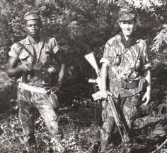 "Portuguese Infantry ""Caçadores"" in Guiné (Guinea) 1968 - Colonial War Colonial, Cold War, Armed Forces, 1, African, World, Camo, War, Beauty Tips For Men"