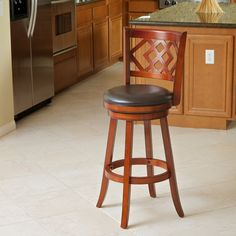Eclipse Brown Swivel Barstool - Overstock™ Shopping - Great Deals on Christopher Knight Home Bar Stools