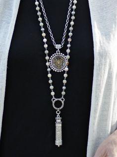 Evil Eye Necklace / Gold Evil Eye Necklace / Diamond Evil Eye Jewelry with Sapphire / Good Luck Necklace / Evil Eye Charm - Fine Jewelry Ideas Evil Eye Jewelry, Evil Eye Necklace, Coin Jewelry, Bridal Jewelry, Jewelry Gifts, Jewelry Necklaces, Pearl Necklaces, Jewellery Earrings, Silver Jewellery