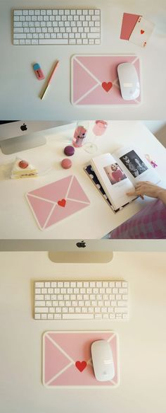 The Love Letter Mouse Pad is a cute addition to your desk and also the cutest way to express your love to your loved ones by gifting it!