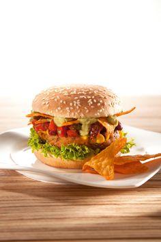 Rezept aus VEGAN FOR FUN: Tex-Mex-Burger-amicella