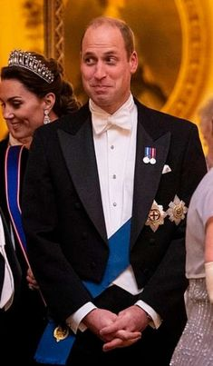 Tonight, Prince William and Kate are attending the Queen's Annual Diplomatic Reception. It's one of the rare events that the Duchess Duke William, Prince William And Catherine, William Kate, Zara Phillips, Prince And Princess, Prince Harry, British Royal Families, Kate Middleton Style, Herzog