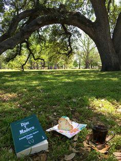 A leer un rato en el Parque San Pedro!!! 31/03/16