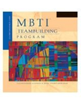 MBTI Team Building Program - workshop kit supporting MBTI practitioners in applying the instrument in team settings, with ready-to-use materials. £345.