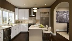 We love arches and also great kitchens. Barbera Homes in Albany, Rensselaer, Saratoga  Schenectady, Columbia New York