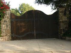 Wood + Iron Gate.