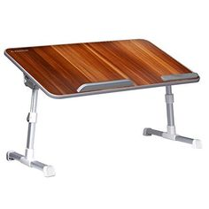 Laptop & Desktop Accessories Oversized Rotating Bamboo Side Table To Produce An Effect Toward Clear Vision Able Life Universal Swivel Tv Tray Table Stands, Holders & Car Mounts