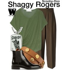 Inspired by animated character Shaggy Rogers from the Scooby-Doo franchise.