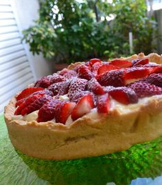 Fruit Pie, Waffles, Strawberry, Cupcakes, Sweets, Cooking, Breakfast, Recipes, Food