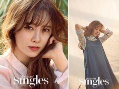 싱글즈 구혜선 화보 패션은 에잇세컨즈 리넨 셔츠 & 원피스 예쁘쟈나~ : 네이버 블로그