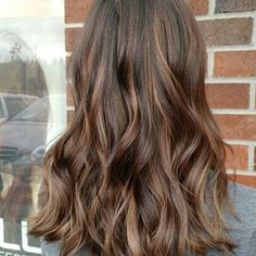 Milk chocolate balayage