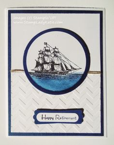 Happy Retirement by katie-j - Cards and Paper Crafts at Splitcoaststampers