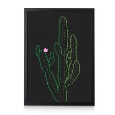 Buy the Cactus Wall Art at Oliver Bonas. Enjoy free UK standard delivery for orders over £50.