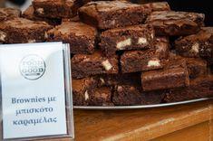 Μπράουνις με Μπισκότο Καραμέλας - Caramel Biscuit Brownies (in Greek) www.thefoodiecorner.gr