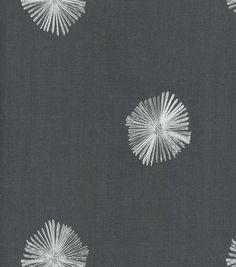 Curtains - spare bedroom? Nate Berkus Home Decor Print Fabric-Onyx