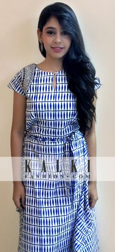 Neethi Taylor - Kalki Tie-up Dress