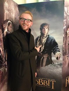 Simon Pegg what are you doing? I don't even know or care you're adorable