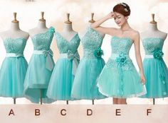 Tiffany blue Lace bridesmaids dress bridal party for by VivaRosa Tiffany Blue Bridesmaid Dresses, Mismatched Bridesmaid Dresses, Lace Bridesmaid Dresses, Homecoming Dresses, Bridal Dresses, Dama Dresses, Quince Dresses, Lace Party Dresses, Dress Lace