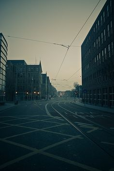 Harcourt St, Early Morning. (Photography, Location)