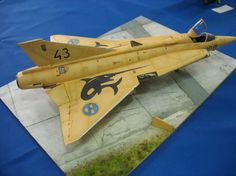 SAAB J-35 Draken 1/48 by Maksim Lipnevich