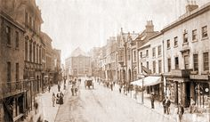 Wrexham - High Street c1890